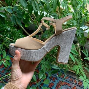Anthropologie Wedge Heels Size 8
